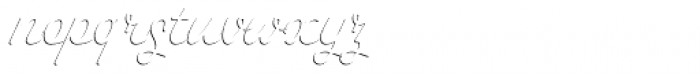 Savoiardi Shadow Script Font LOWERCASE
