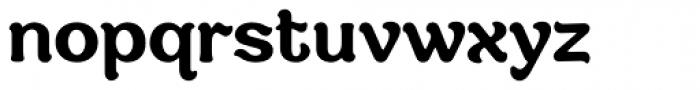 Savor Bold Font LOWERCASE