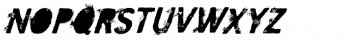 SavoryPaste Alternate Fast Font UPPERCASE