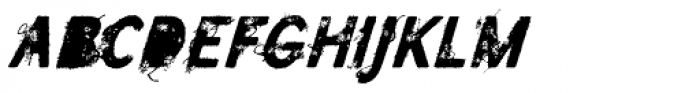 SavoryPaste Alternate Fast Font LOWERCASE