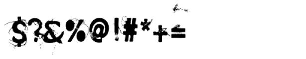 SavoryPaste Alternate Font OTHER CHARS