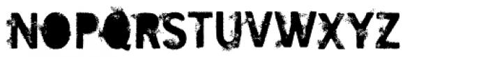 SavoryPaste Alternate Font UPPERCASE