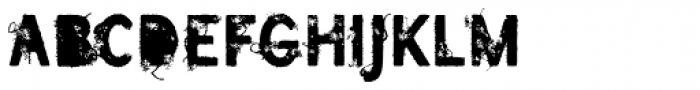 SavoryPaste Alternate Font LOWERCASE