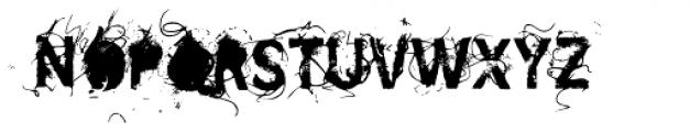 SavoryPaste Font UPPERCASE