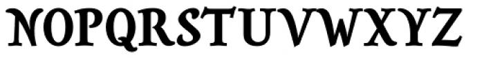Savour Pro Bold Font UPPERCASE