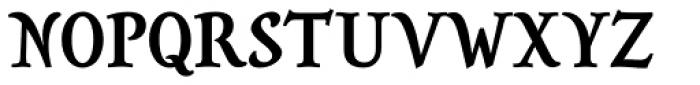 Savour Pro DemiBold Font UPPERCASE