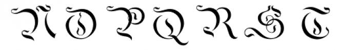 Savoy Overlay Font UPPERCASE