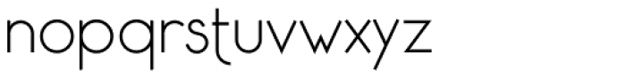 Saxo Grammaticus Light Font LOWERCASE