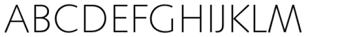Saxony Serial ExtraLight Font UPPERCASE