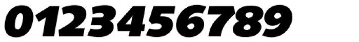 Saxony Serial Heavy Italic Font OTHER CHARS