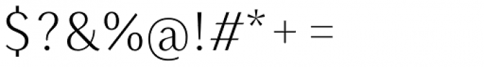 Saya SemiSans FY Light Font OTHER CHARS