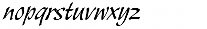 Sayer Esprit BQ Light Font LOWERCASE