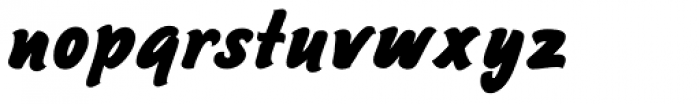 Sayer Script MN Black Font LOWERCASE