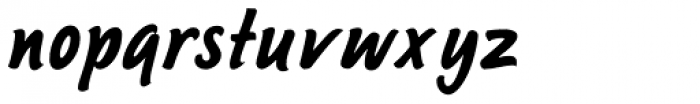 Sayer Script MN Font LOWERCASE