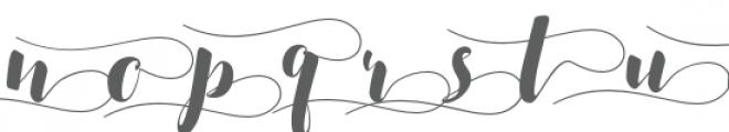 SALSABILLA SWASHES Font UPPERCASE