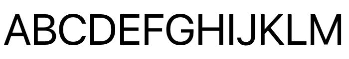 San Francisco Display Font UPPERCASE