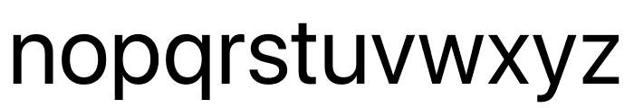 San Francisco Display Font LOWERCASE