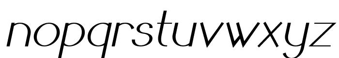 Sandervole-BoldItalic Font LOWERCASE