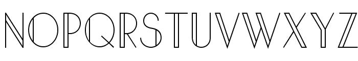 Sandervole Font UPPERCASE