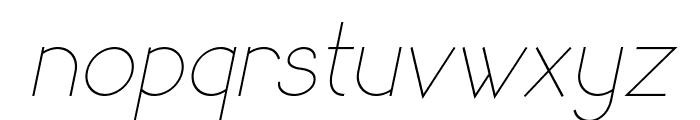 SandervoleItalic Font LOWERCASE