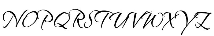 SandyTextHmkBold Font UPPERCASE