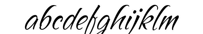 SandyTextHmkBold Font LOWERCASE
