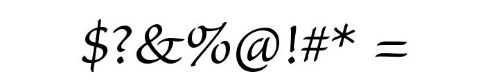 SanvitoPro-LtCapt Font OTHER CHARS