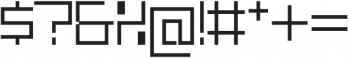 SB Carbon Medium Light otf (300) Font OTHER CHARS