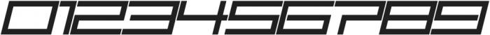 SB Carbon Ultrawide Regular Italic otf (400) Font OTHER CHARS