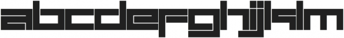SB Carbon Wide Bold otf (700) Font LOWERCASE