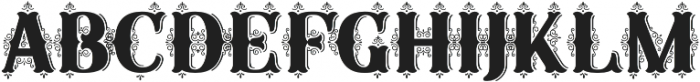 SB Fancy Illuminated otf (400) Font LOWERCASE