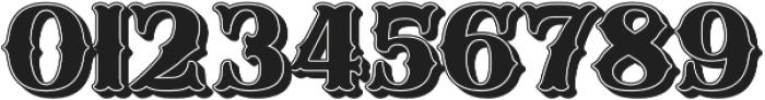 SB Fancy Shadow 3D otf (400) Font OTHER CHARS