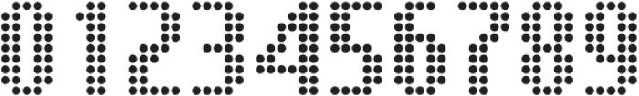 SB Message Dot Regular otf (400) Font OTHER CHARS