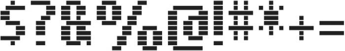 SB Message Line Regular otf (400) Font OTHER CHARS