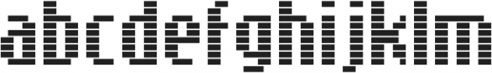 SB Message Line Regular otf (400) Font LOWERCASE