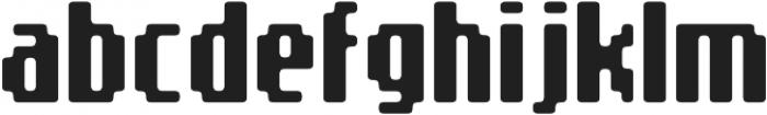 SB Message Rounded Regular otf (400) Font LOWERCASE