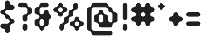 SB Modem Regular otf (400) Font OTHER CHARS