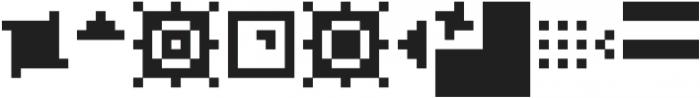 SB Pixelpaint otf (400) Font OTHER CHARS