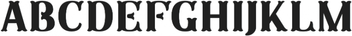 SB Plain No Frills otf (400) Font UPPERCASE