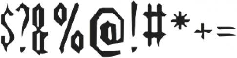SB Splinter otf (400) Font OTHER CHARS