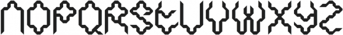 SB Thorax Line otf (400) Font UPPERCASE