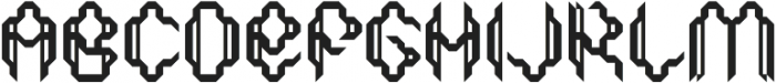 SB Thorax Solid otf (400) Font UPPERCASE