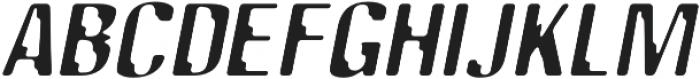SB Tokyo Italic otf (400) Font UPPERCASE
