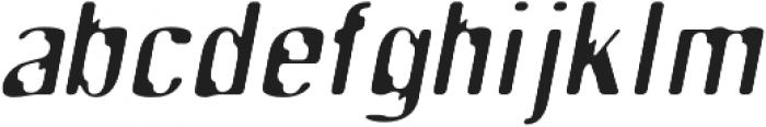 SB Tokyo Italic otf (400) Font LOWERCASE