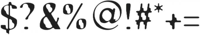 SB Tokyo Regular otf (400) Font OTHER CHARS