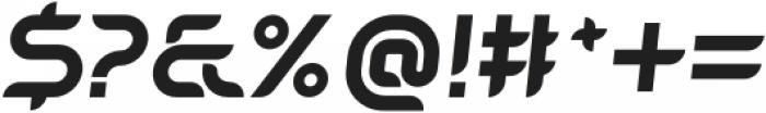 SB Unica Bold Italic otf (700) Font OTHER CHARS
