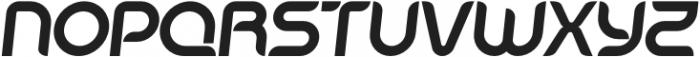 SB Unica Bold Italic otf (700) Font UPPERCASE