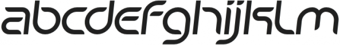 SB Unica Italic otf (400) Font LOWERCASE