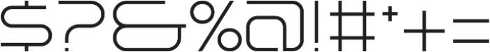 SB Vibe Extended Light otf (300) Font OTHER CHARS