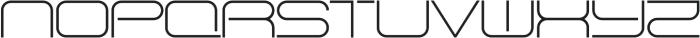 SB Vibe Extended Light otf (300) Font UPPERCASE